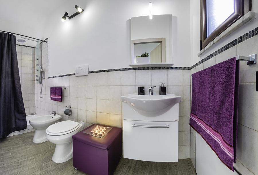 bagno camera b&b Arricampati